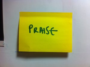 Is praise what we are all looking for?